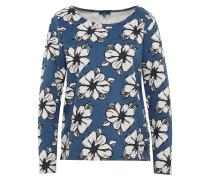 Langarmshirt mit floralem Muster