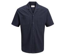 6009072c1853a7 Kurzarmhemd dunkelblau. Jack   Jones