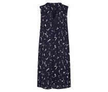Kleid 'Wemka botanical' blau