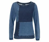 Sweatshirt im Denim-Look blue denim
