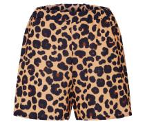 Hose 'leopard' braun / schwarz