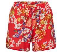 Shorts 'ella' mischfarben / rot