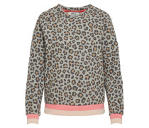 Pullover 'wetaso S/t' braun / grau / pink
