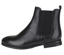 Chelsea Boots auf feinem Leder schwarz