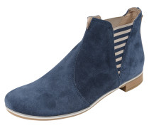 Stiefelette 'Stripes' navy