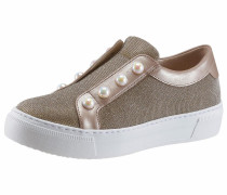 Sneaker platin / weiß