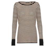 Sweater 'llt' navy / koralle