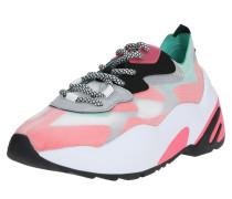 Sneaker 'Charged' grau / rot / mint