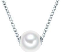 Silberkette silber / weiß