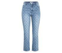 'Adelina' Jeans blue denim / schwarz