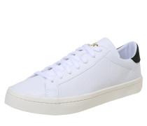 Sneaker 'courtvantage' weiß