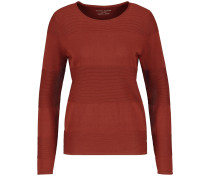Pullover rostrot