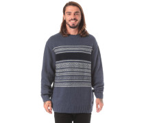 Strickpullover 'Mayfield' taubenblau
