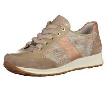 Sneaker rosegold / taupe / mischfarben