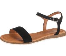 Klassische Sandale 'Lara' schwarz