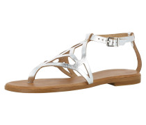 Sandale 'olimpia' silber