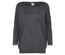 Pullover 'knit' dunkelgrau