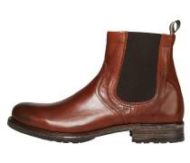 Chelsea Boots rostbraun / dunkelbraun