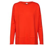Sweatshirt 'Tecosy' orangerot