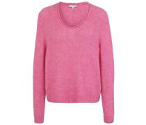 Pullover 'v-Neck Clean' pink