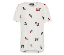 T-Shirt 'cherry Embroidery'