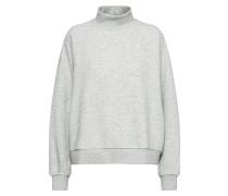 Sweatshirt 'Nana' graumeliert