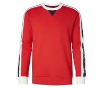 Sweatshirt hellrot / weiß