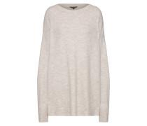 Oversized Pullover graumeliert