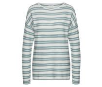 Pullover hellblau / weiß