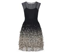Chiffonkleid mit eingearbeitetem Petticoat