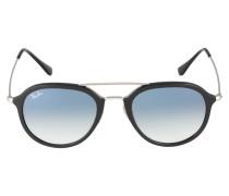 Sonnenbrille '0Rb4253' schwarz / silber