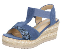 Sandale '72257' blau / sand