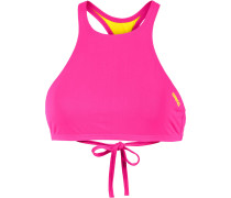 Bikini-Oberteil 'crop Think' pink