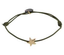 Armband 'Star' gold / oliv