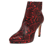 Ankle Boots 'fynnia' rot / schwarz
