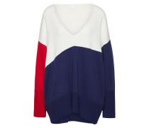 Pullover 'Iwarly' blau / weiß