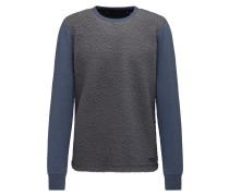 Pullover blue denim / dunkelgrau