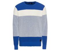 Pullover 'Block stripe r knit l\s'
