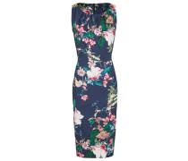 Kleid dunkelblau / mischfarben