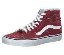 Sneaker 'SK8-Hi' bordeaux / weiß