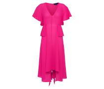 Kleid 'pleat Waist' fuchsia