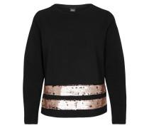 Sweatshirt gold / schwarz