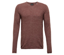 Pullover 'wictor' weinrot