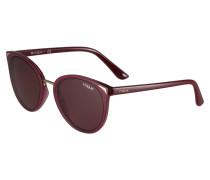 Sonnenbrille blutrot