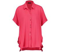 Kurzarmbluse pink