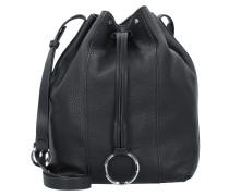 Bucket-Bag 'Pebble' schwarz