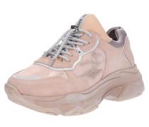 Sneaker Low nude / rosa