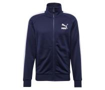 Sweatjacke 'Iconic T7' blau