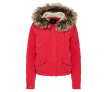 Jacke 'new Skylar FUR Parka' cranberry