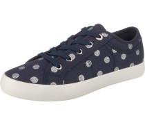 Sneaker navy / silber